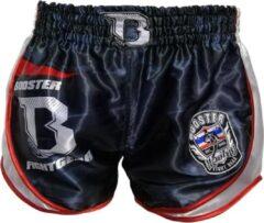 Rode Booster fight gear Booster Kickboks Broek Muay Thai Short Ad Camo Corpus S = maat 29/30 | 50-60kg