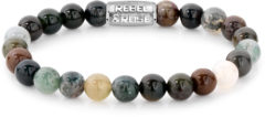 Rebel & Rose Rebel and Rose RR-80049-S Rekarmband Beads Indian Summer meerkleurig-zilverkleurig 8 mm S 16,5 cm