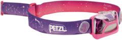 Petzl Tikkid Hoofdlamp voor kinderen met Glow-in-the-Dark Roze