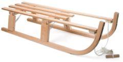 DWS Slede hout opvouwbaar 80 cm