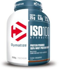 Dymatize Nutrition Dymatize ISO-100 Hydrolyzed - Eiwitpoeder / Eiwitshake - 2200 gram - Choco Fudge Brownie