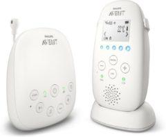 Philips Avent DECT babyfoon SCD723/26, met toespreekfunctie, nachtrustmodus, Smart ECO-modus, wit