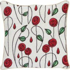 Rode Signare Kussenhoes Mackintosh Simple Rose