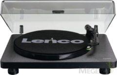 Lenco L-30 Zwart - Platenspeler met auto-stop en USB aansluiting - Phonocartridge met bewegende magneet