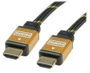 Roline Gold HDMI High Speed Cable - HDMI-Kabel - 15 m