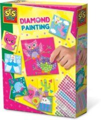 SES Creative diamond painting junior knutselset