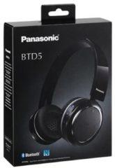 Panasonic Hoofdtelefoon BTD5E Bluetooth 18Hz-20kHz zwart - Panasonic