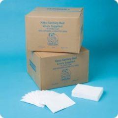 HygieneShopBasics Papieren verschoonmatjes voor de babyverschoontafel of commode