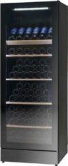 Zwarte Vestfrost Solutions WFG155A+ - Wijnklimaatkast - Multizone - 147 Flessen - A+ label