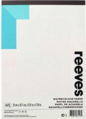 Gebroken-witte Reeves / Aquarelblok A4 / Aquarelpapier 12 vellen / Schetsboek /190 gm² en is zuurvrij.