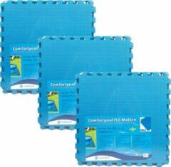 Blauwe Comfortpool - Voordeelpakket - Zwembad tegels - 15 tegels - 60 x 60 cm - 5,4m²