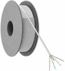 Nedis U/UTP CAT6 Gigabit netwerkkabel met vaste aders / grijs - 100 meter