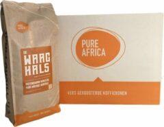 Pure Africa De Waaghals direct trade koffiebonen - 8 x 1 kg