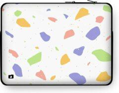 """DuckZip Laptophoes 13 inch – Macbook Sleeve 13"""" - Terrazzo N°8"""
