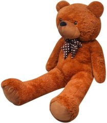 Bruine VidaXL Teddybeer zacht pluche XXL bruin 100 cm