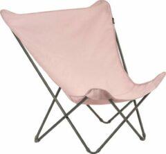 Roze Lafuma Maxi Pop UP XL - Vlinderstoel - Opvouwbaar - Airlon dekje -Rose