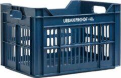 Urban Proof Fietskrat 30 Liter Polypropyleen Donkerblauw