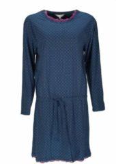 Tenderness Dames nachthemd TENGD2113B-Blauw-TR4