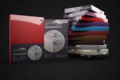 Dreamhouse Hoeslaken Jersey - stretchbaar voor boxsprings en waterbedden - kreukvrij, Rood