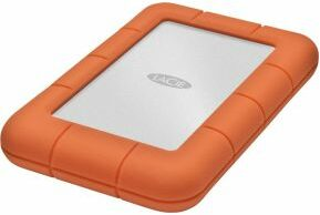 Afbeelding van LaCie 301558 Rugged Mini Externe harde schijf (2.5 inch) 1 TB Zilver, Oranje USB 3.0