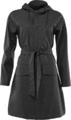 Rains Belt Jacket 1824 Regenjas Vrouwen - Zwart - Maat XXS