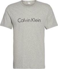 Grijze Calvin Klein Comfort Cotton lounge T-shirt met logoprint