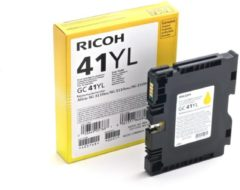 Gele RICOH GC-41YL gel cartridge geel low capacity 400 pagina s 1-pack