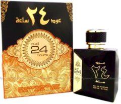 Gouden Merkloos / Sans marque Oud 24 hours Arabian Parfum Spray 100 ml