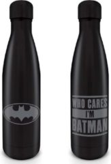 DC Comics Batman Who Cares I Am Batman Metal Drink Bottle