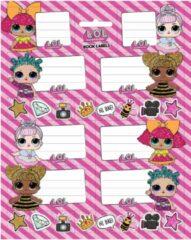 Roze L.O.L. collectibles LOL Surprise - Schooletiketten (8 stuks)
