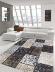 Grijze Flycarpets Patchwork Collectie (1,20 x1,70 Cm )
