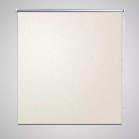 Afbeelding van Creme witte VidaXL - Wonen Rolgordijn - Verduisterend 120 x 230 cm - crème 240161