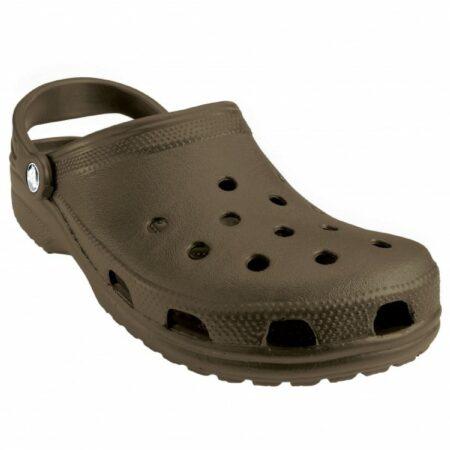 Afbeelding van Groene Crocs - Classic - Outdoor sandaal maat M13 bruin/olijfgroen