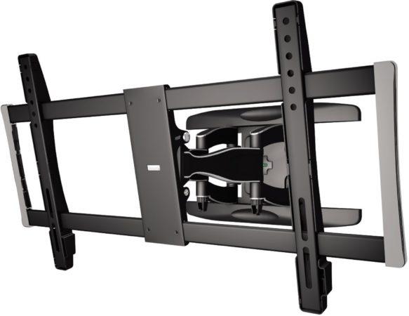 Afbeelding van Hama tv beugel TV-muurbeugel Premium volledig beweegbaar VESA 800x400 zwart/zilver