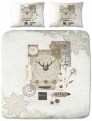 Suela Home Feline - Dekbedovertrek - lits-jumeaux - 240 x 200/220 cm - Multi