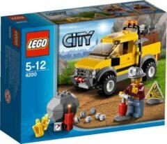 Gouden LEGO City Mijnbouw 4x4 - 4200