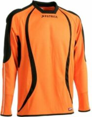 Patrick Calpe101 Keepershirt Lange Mouw - Oranje / Zwart | Maat: S