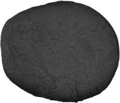 Grijze Form-Fix Voedingskussenhoes - Hoes voor Sit Fix XL - 100% katoen en comfortabel badstof - Antraciet
