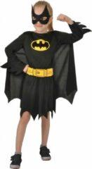 Dc Comics Verkleedpak Batgirl Meisjes Zwart 4-delig Maat 110-122