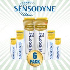Sensodyne Multicare Tandpasta 75ml - 6 Pack Voordeelverpakking