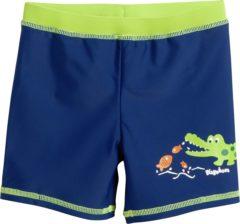 Playshoes - Kid's UV-Schutz Shorts Krokodil - Zwembroek maat 98/104, blauw/groen