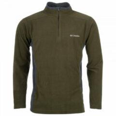 Columbia - Klamath Range II Half Zip - Fleecetrui maat XXL - Regular, bruin/olijfgroen