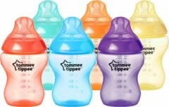 Tommee Tippee Closer to Nature Zuigfles Fiesta - 260 ml - 6 Stuks