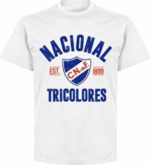 Retake Nacional Established T-shirt - Wit - XXL