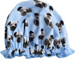Lichtblauwe Vagabond Traditionele Engelse Douchemuts - Dogs Blue