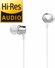 Tuddrom H2 Wit - Hi-Res In Ear Oordopjes met Microfoon - Dual High Quality Dynamic Drivers - 2 Jaar Garantie