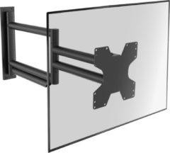 Cavus WMV9050 TV Muurbeugel Extra lang - Premium Full motion ophangbeugel voor 37 - 55 Inch max 25kg - Universele VESA muursteun - zwart