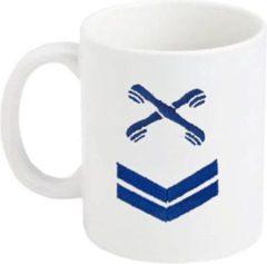 Marineblauwe Hoofdmarva 3e klasse Telefonist