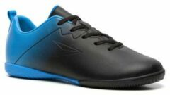 Scapino Dutchy Jr. zaalvoetbalschoenen zwart/kobaltblauw
