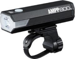 Cateye koplamp Ampp 800HL-EL088RC led usb oplaadbaar accu zwart